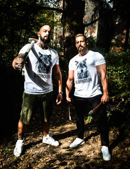t-shirt wolf bjornsson